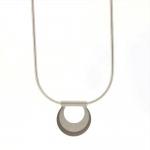 Mini Semi-Circle Necklace - Melanie Ihnen -  Eclectic Artisans