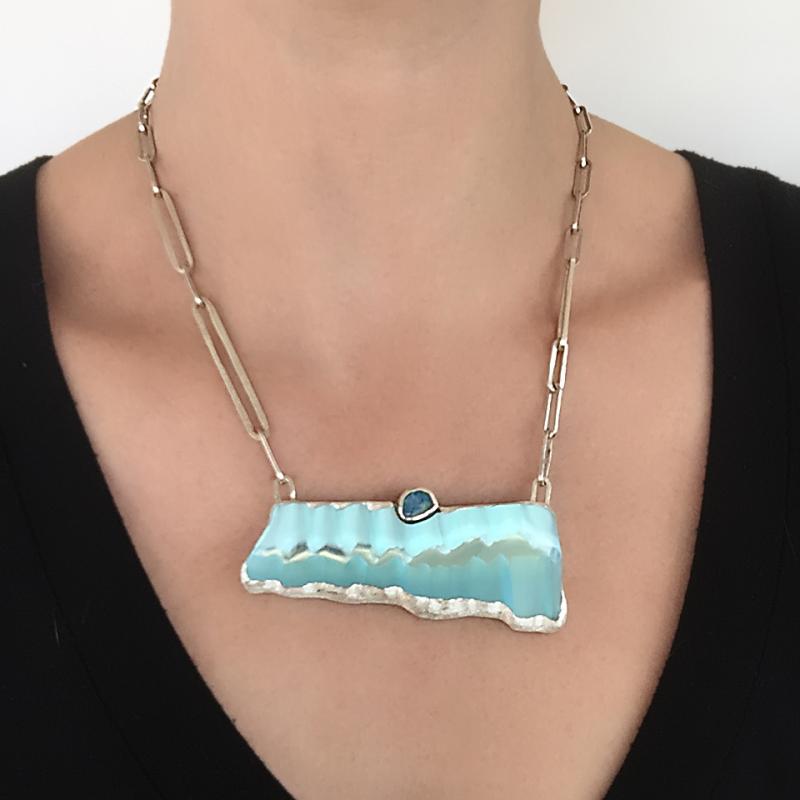 Ice Shelf Necklace - Debra Adelson -  Eclectic Artisans