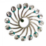 Lily Pad Brooch Pendant - Pam Fox -  Eclectic Artisans