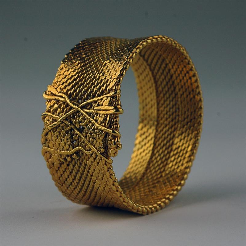 Bracelet Woven - Charles Lewton-Brain -  Eclectic Artisans