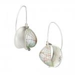 Retroflex Earrings - Mary Lynn Podiluk -  Eclectic Artisans
