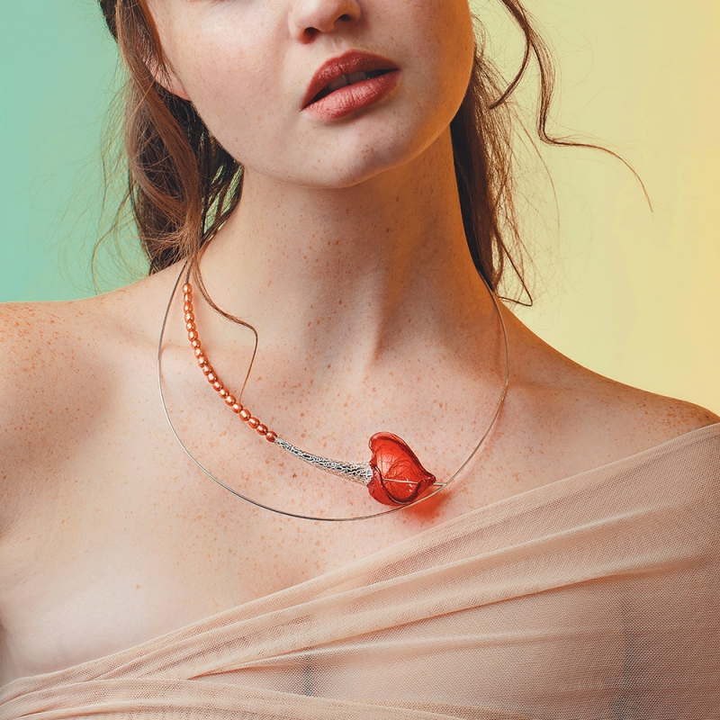 Soliloquy Neckpiece - Mary Lynn Podiluk -  Eclectic Artisans