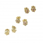 Spiked Dome Earstuds - Maria Kotsoni -  Eclectic Artisans