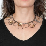 Frames necklace 2 - Lori Gottlieb -  Eclectic Artisans