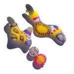 Amoeba Earrings - Casa Kiro Joyas -  Eclectic Artisans