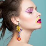 Amoeba Earrings - Casa Kiro Joyas -  Eclectic Artisans