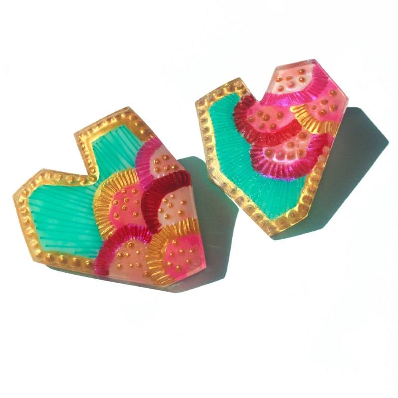 Rock Star Earrings - Casa Kiro Joyas -  Eclectic Artisans