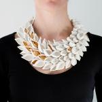 Almond Shell Necklace - Raluca Buzura -  Eclectic Artisans