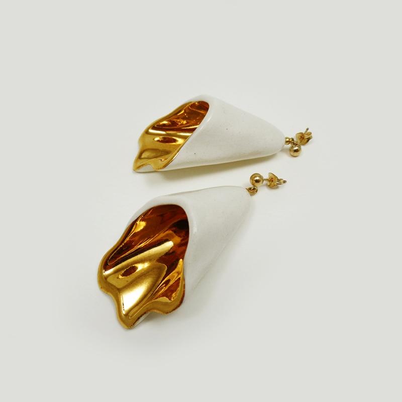 Bellflower Earrings - Raluca Buzura -  Eclectic Artisans