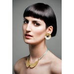 Nymph Rounded Earrings - Valentina Falchi -  Eclectic Artisans