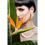 Nymph Semi Circular Necklace - Valentina Falchi -  Eclectic Artisans