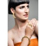 Nymph Flat Ring - Valentina Falchi -  Eclectic Artisans