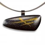 Yellowstone Pendant Necklace (Horizontal) - Estelle Vernon -  Eclectic Artisans