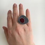 Double Bean Ring Medium - Allison Hilton Jones -  Eclectic Artisans