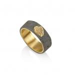 Diamond Star Ring - Noy  Alon -  Eclectic Artisans