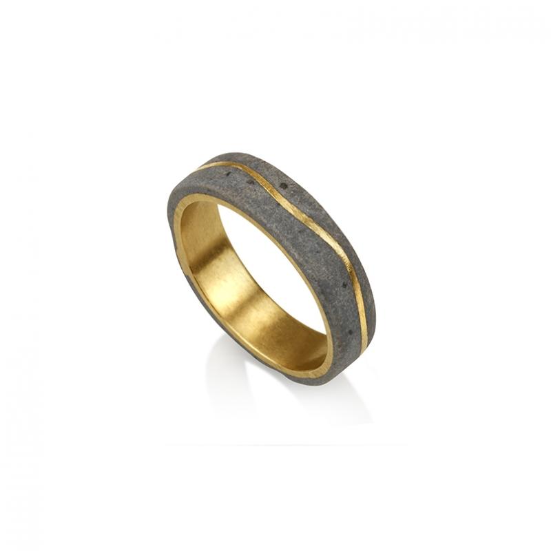 Meteor Ring | Slim - Noy  Alon -  Eclectic Artisans