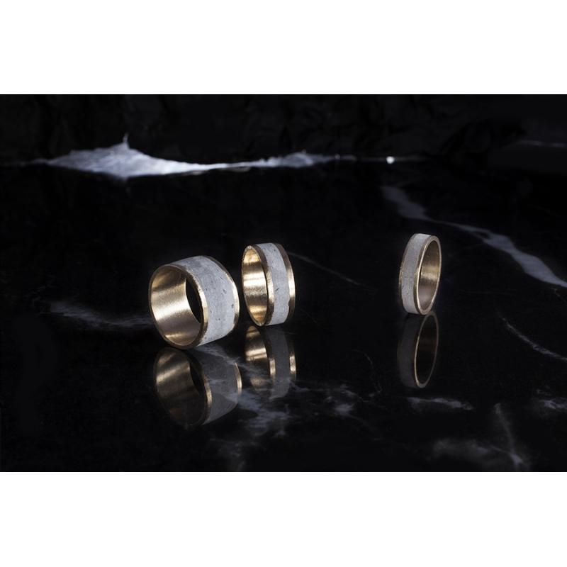 Comet Ring | Wide - Noy  Alon -  Eclectic Artisans