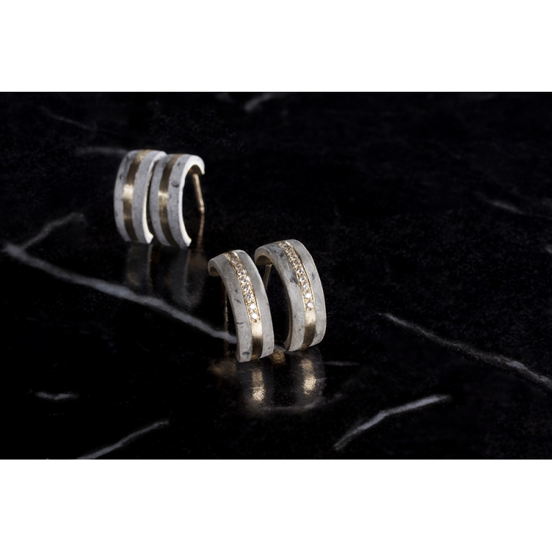 Solar Earrings - Noy  Alon -  Eclectic Artisans