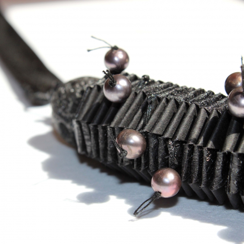 """AO1 """"Queen of the Night"""" necklace - Arual Dem -  Eclectic Artisans"""