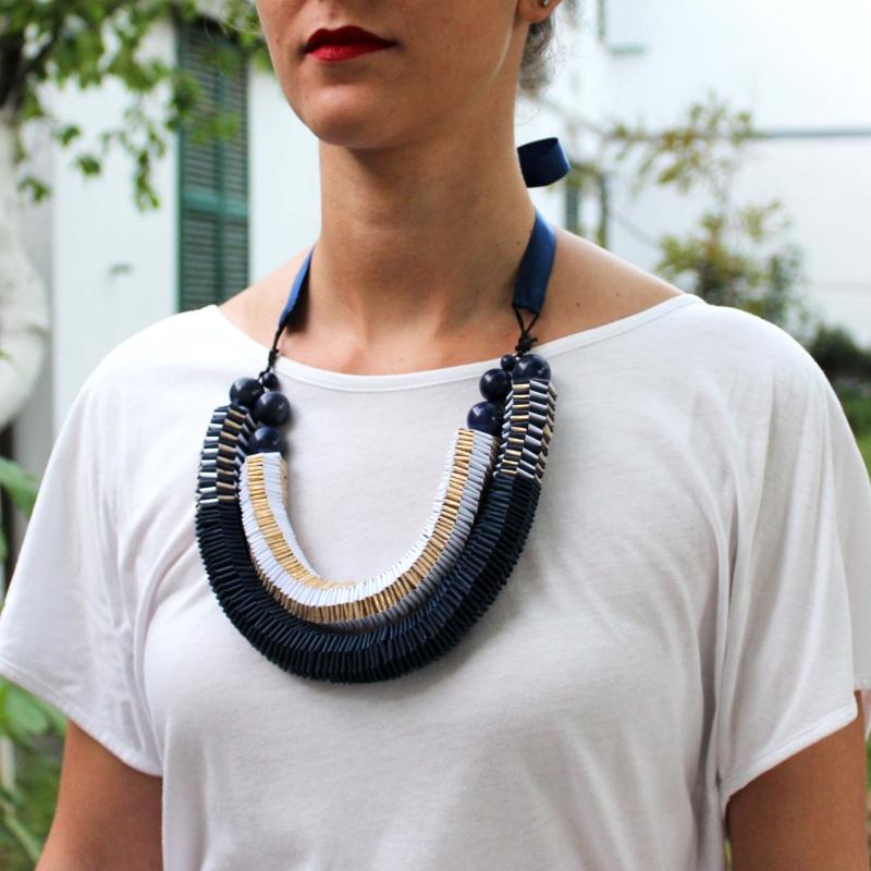 AO2 Necklace - Arual Dem -  Eclectic Artisans