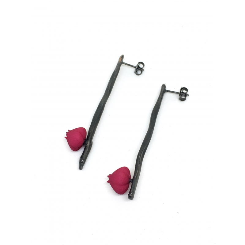 Bloom Earrings - Valeria D'Annibale -  Eclectic Artisans
