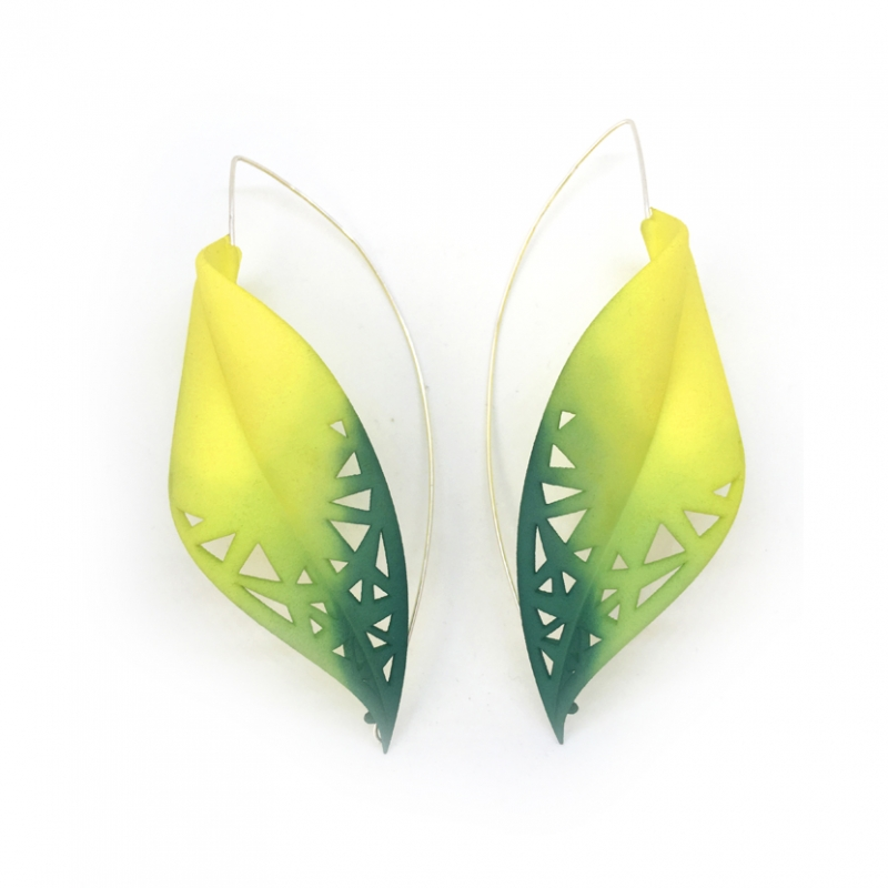 Leaf Earrings XL - Valeria D'Annibale -  Eclectic Artisans