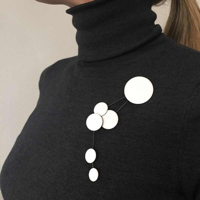 Dot Brooch - ECNP Jewelry -  Eclectic Artisans