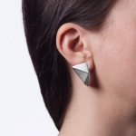 Angle Earrings - Nora Tengely -  Eclectic Artisans