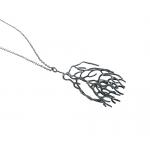 Frond pendant - Kate Bajic -  Eclectic Artisans