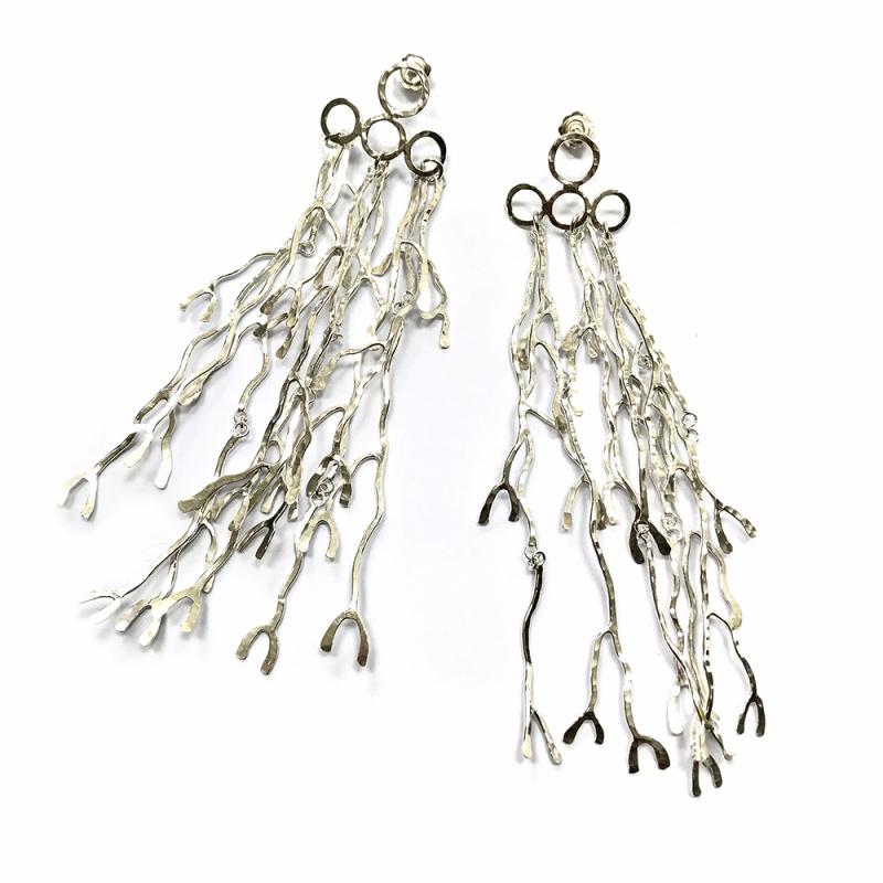 Longissima Earrings - Kate Bajic -  Eclectic Artisans