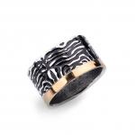 Black Tiger Ring - Margita   Grabovski -  Eclectic Artisans
