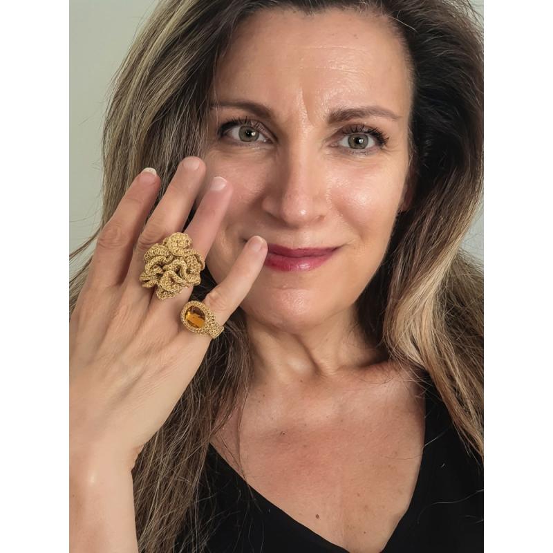 18 Karat Gold Ring - Shenhav Russo -  Eclectic Artisans
