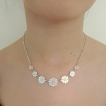 Seven Daisies Necklace - Diana Greenwood -  Eclectic Artisans