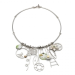 Garden Elements Necklace - Diana Greenwood -  Eclectic Artisans