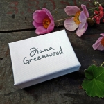 Little Silver Leafy Brooch - Diana Greenwood -  Eclectic Artisans
