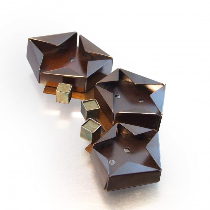 Star Pin Iron Pyrite - Melody Armstrong -  Eclectic Artisans