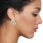 2 Leaf Earrings - Nicola Bannerman -  Eclectic Artisans