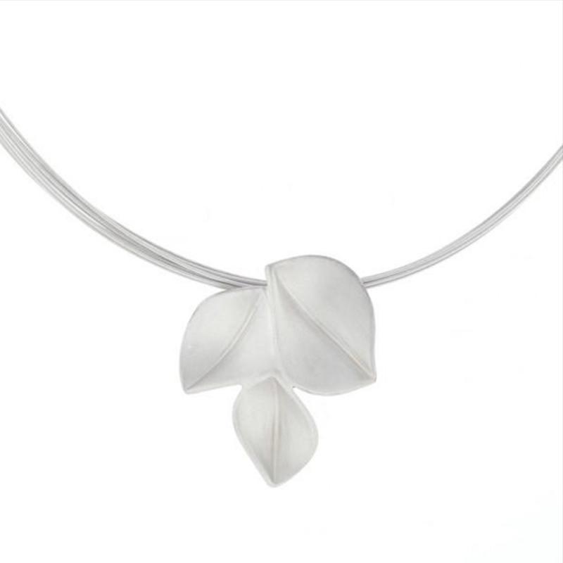 3 Leaf Necklace - Nicola Bannerman -  Eclectic Artisans