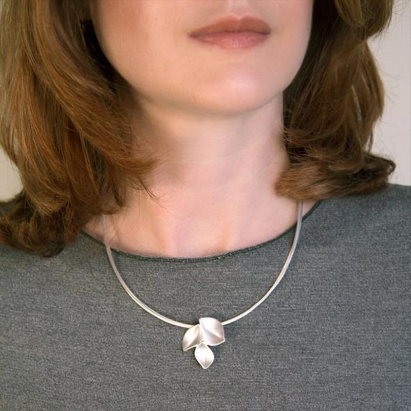 3 Leaf Necklace - Nicola Bannerman -  Eclectic Artisans