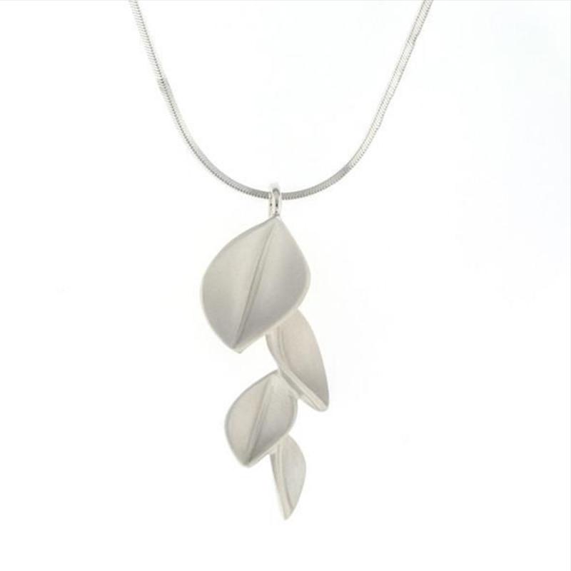 4 Leaf Pendant Silver - Nicola Bannerman -  Eclectic Artisans