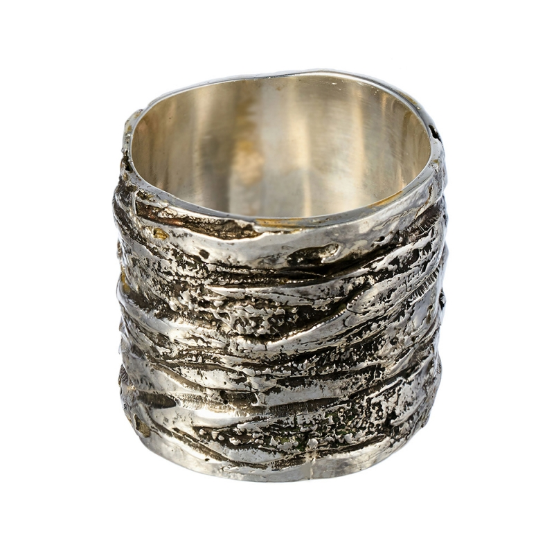 Wood texture ring - Bizar Concept -  Eclectic Artisans