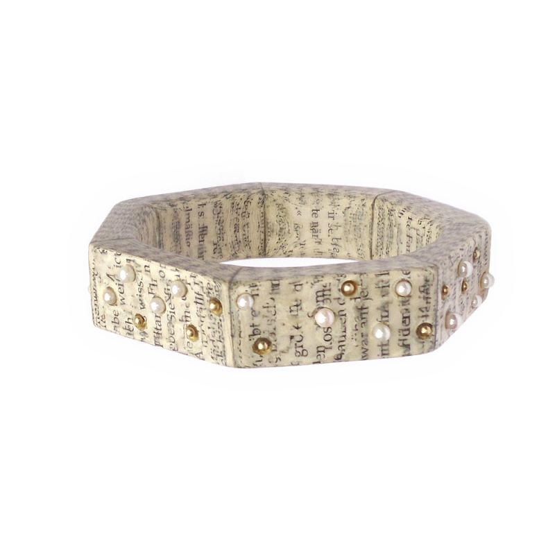 "Bangle ""A Trip to the Stars"" - Christine Rozina -  Eclectic Artisans"