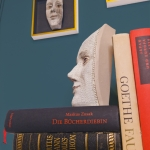 "Booksculpture ""Musing"" - Christine Rozina -  Eclectic Artisans"
