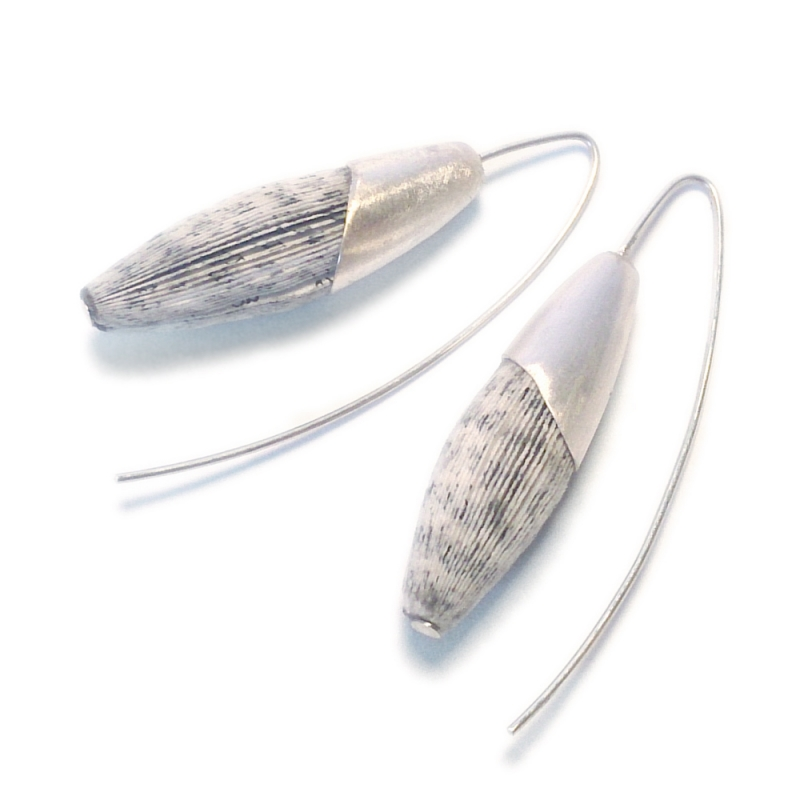 Capsule Earrings - Christine Rozina -  Eclectic Artisans