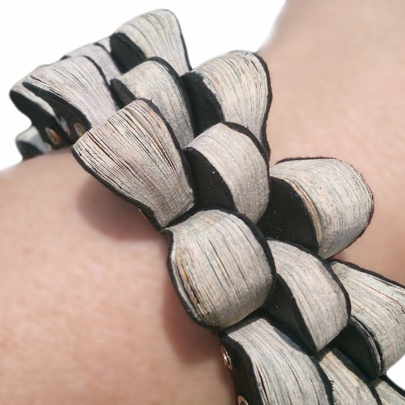 """Bracelet """"Hinged Books"""" - Christine Rozina -  Eclectic Artisans"""
