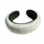 "Bangle ""Velvet Book"" - Christine Rozina -  Eclectic Artisans"