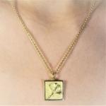 Amy Talisman Necklace - Alison Nagasue -  Eclectic Artisans