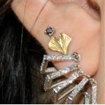 Baby Gingko Earring - Alison Nagasue -  Eclectic Artisans