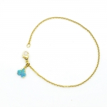 Becky Opal Gingko Bracelet - Alison Nagasue -  Eclectic Artisans