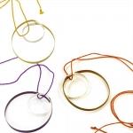 Continuous Loop Pendant - Vanessa Williams -  Eclectic Artisans